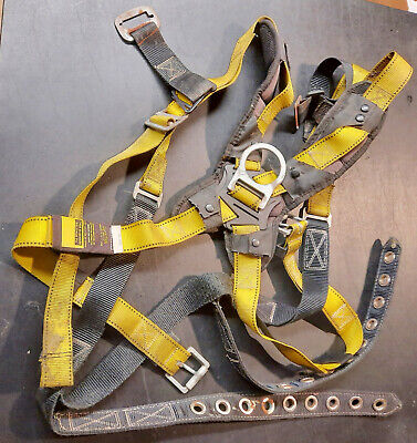 Guardian Fall Protection Universal Safety Harness Size Xl Xxl Solid