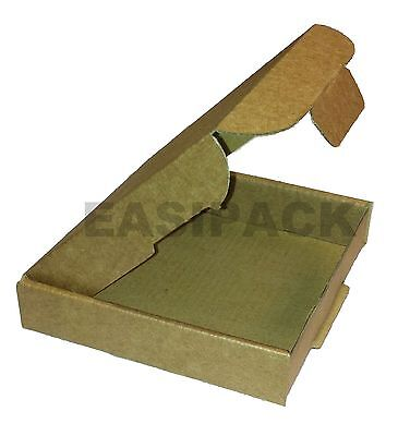 25 x Cardboard Postal Jewellery Mail Boxes PIP (Large Letter) 101x101x20mm- MINI
