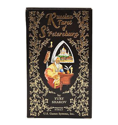 Russian Tarot of St. Petersburg Deck/Cards - Divination/Meditation/Magick