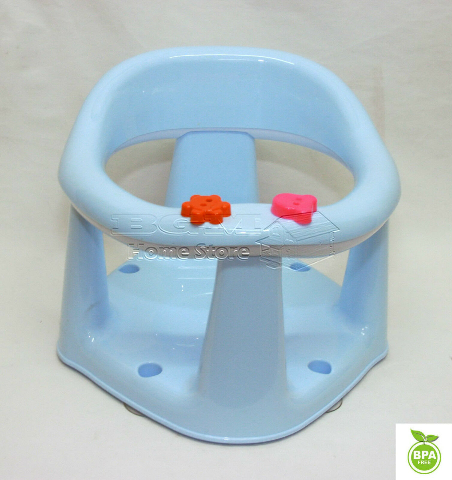 3 In 1 Baby Bath Dining & Activity Play Seat Kids Tub Ring Seat ...