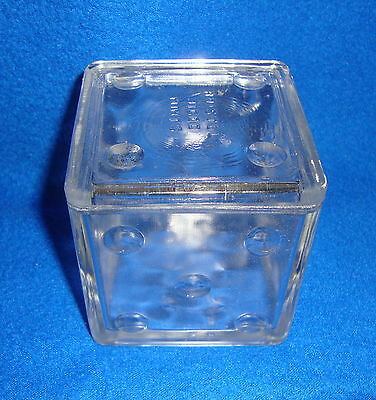 Brandle & Smith Co. Bristol Diced Mints Candy Jar