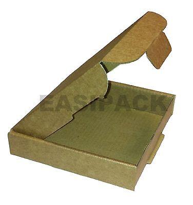 1000 x Cardboard Postal Jewellery Mail Boxes PIP (Large Letter)101x101x20mm-MINI