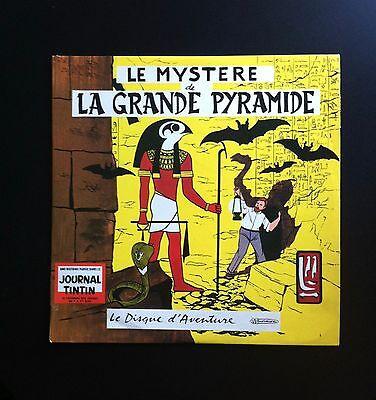 BLAKE ET MORTIMER * LE MYSTERE DE LA GRANDE PYRAMIDE * JACOBS * DISQUE 33T