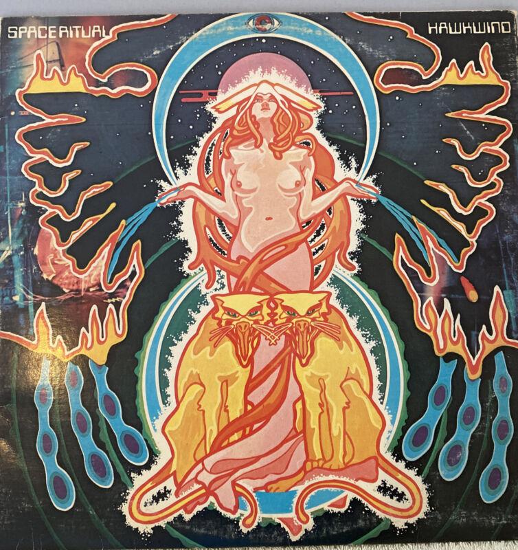 Space Ritual Hawkwind Recorded Live Brixton Sundown Vinyl Lp