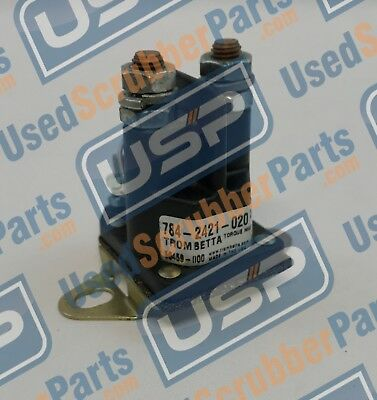 Pre-owned Tennant Part 603008 Contactor 24v 5400