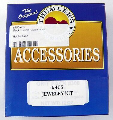 Thumler's Tumbler Rock Polisher Jewelry Kit #405 ()