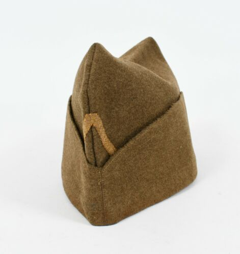 WWII FRENCH ARMY NCO OVERSEAS CAP