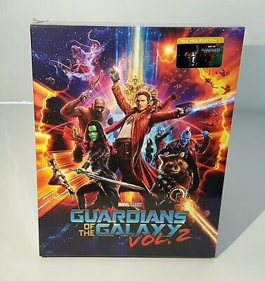 Guardians Of The Galaxy Vol 2  2D   3D  Blu Ray Steelbook  Filmarena  Fullslip