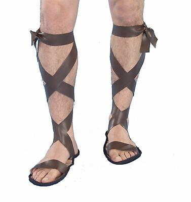 Römische Sandalen Herren Schuhe Grichischer Mittelalterlich - Renaissance Kostüm Schuhe