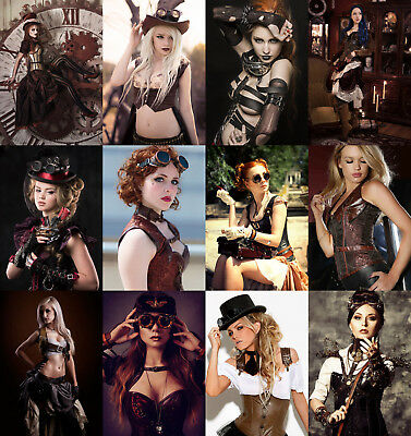 Steampunk Sexy Babes - Hot Sexy Photo Print - Buy 1, Get 2 FREE - Choice Of 30](Steampunk Babes)