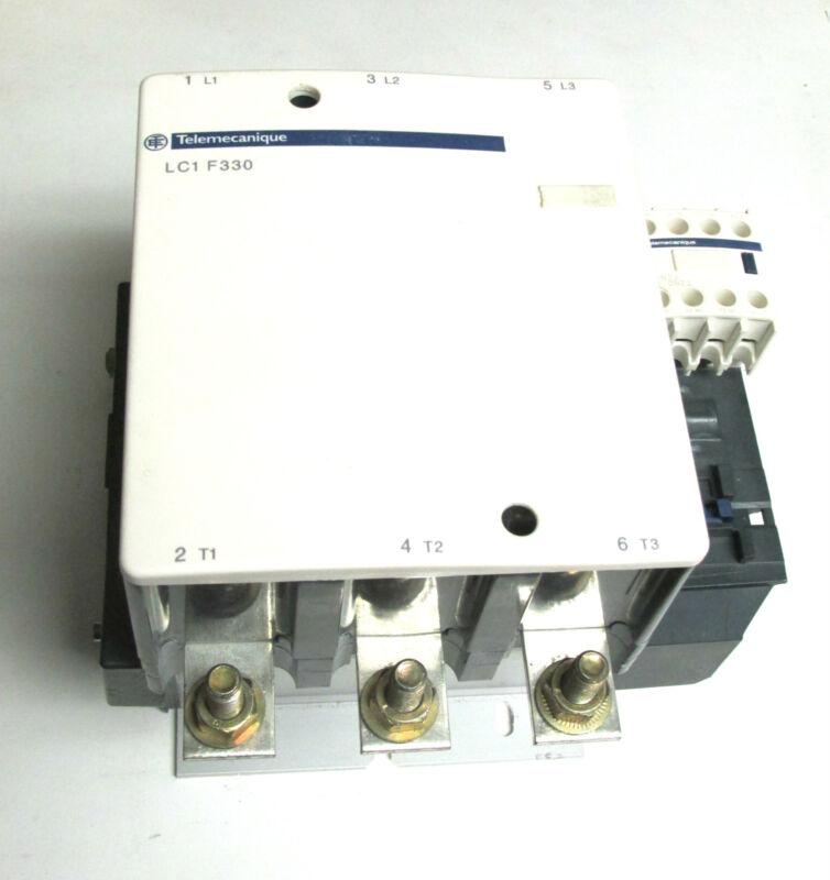 * Square D Telemecanique Contactor LC1 F330 / 120V  Coil.. LX1FH1272 .. ZAA-80H