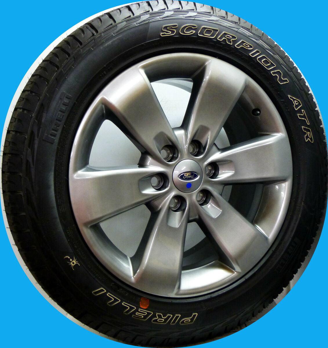 """2012 Ford F150 FX2 FX4 Expedition 20"""" Wheels Rims Pirelli Tires New Take Off"""