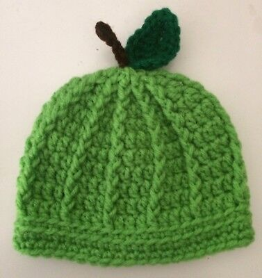 (New Crochet Knit Apple Hat Adult Teen Fall Harvest Your Choice Free Shipping!)