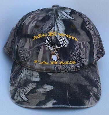 Dominican Republic Panel - McEWEN FARMS Camo Baseball Cap Hat Adjustable Snapback Structured 6-Panel