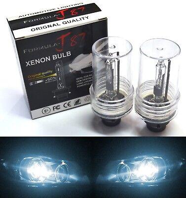 HID Xenon D2R Two Bulbs Head Light 6000K White Bi-Xenon Replace Lamp Low Beam