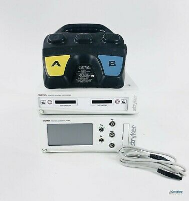 Stryker 5400-50 Core Power Console With Iswitch Complete Wireless Footswitch