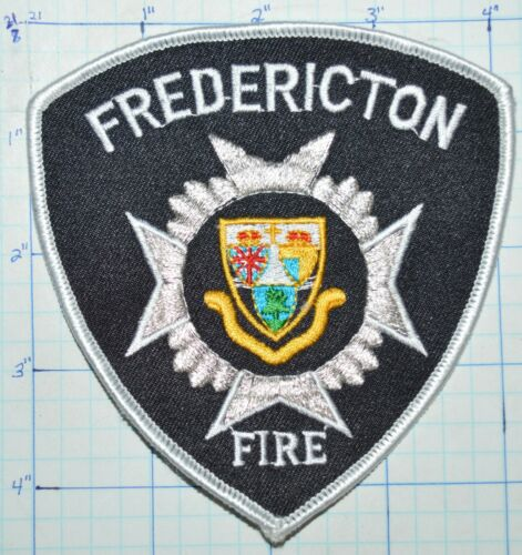 CANADA, FREDERICTON FIRE DEPT NEW BRUNSWICK PATCH