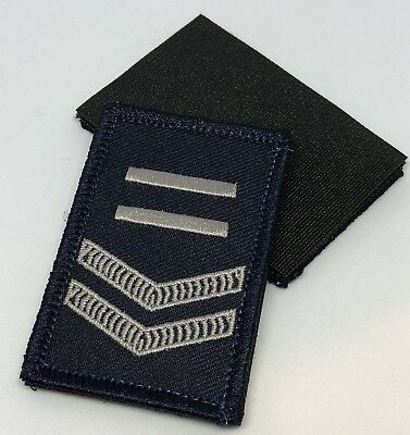 Police LBV Rank Patch #4, Dark Blue, NSW, VIC, WA, QLD, SA, NT, Hook Rear