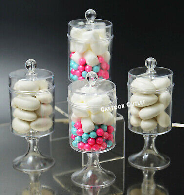 12 Fillable Candy Containers Wedding Favors Recuerdos De Quinceanera Baby Shower