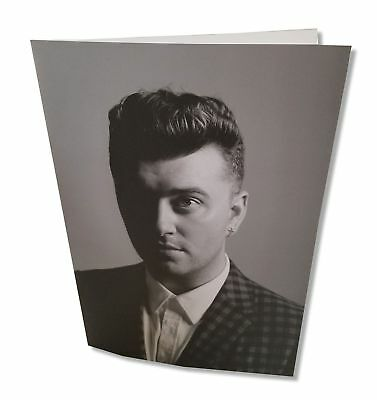 Sam Smith In the Lonely Hour Black and White Concert Tour Book New Official