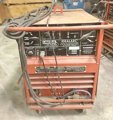 Lincoln Arc Welder Idealarc Tig 250250 9680