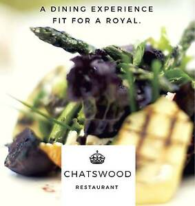 HIGHLY-REVERED Chatswood Dining Institution 5 DAYS Chatswood Willoughby Area Preview