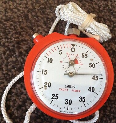 Used, Smiths yacht timer NEW OLD STOCK SMITHS YACHTING TIMER MINT  for sale  Shipping to Ireland