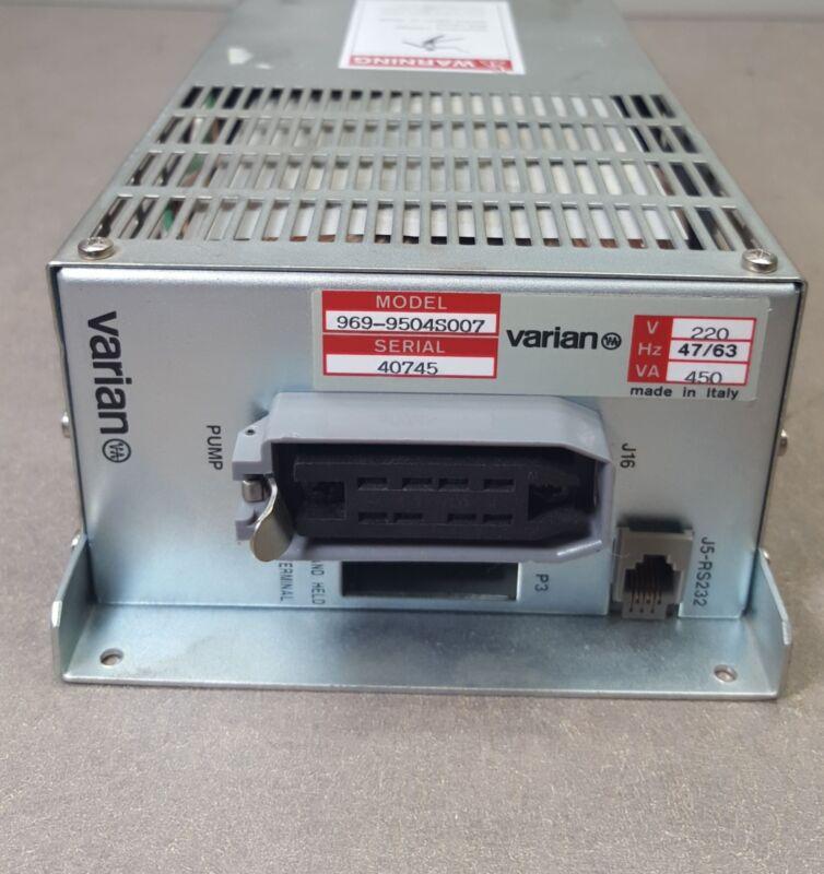 Varian Pump Controller Model 969-9504S007