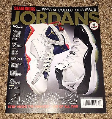 SLAM MAGAZINE JORDANS KICKS SPECIAL COLLECTORS ISSUE VOL 2 AJ VII - XI !!!