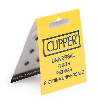 Feuersteine von Clipper 9 Stück passend für alle Marken im Heftchen Feuerzeug