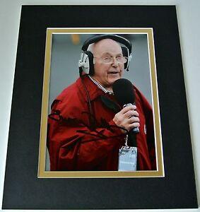 Murray Walker Signed Autograph 10x8 photo display Formula 1 Commentator & COA