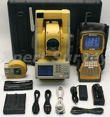 Topcon Gpt-9003a 3 Robotic Total Station W Fc-2500 Rs-1 2.4ghz Spsp Radio