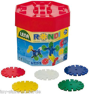 Lena ® Rondi-45 Baudose Kinder Kleinkinder Spielzeug Steckspiel Puzzle # 35946