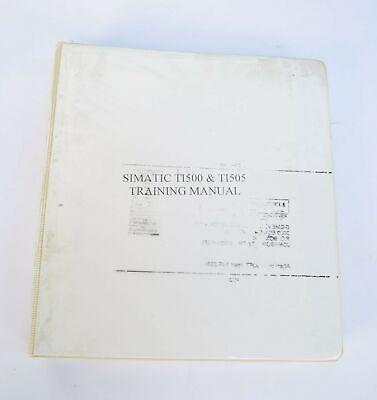 Siemens Simatic Ti500 Ti505 Plc Training Manual Issue 4.2
