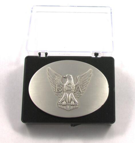 Boy Scouts of America Eagle Scout Oval Belt Buckle w/ Case