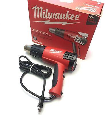 Milwaukee 8988 Variable Temperature Heat Gun Lcd Display 120-1150f 120vac 1500w