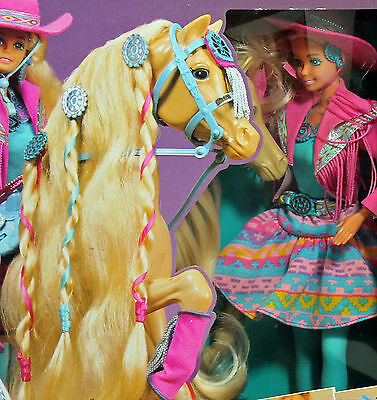 Western Fun Barbie w/Sun Runner 1990, Mint NO BOX - 05408