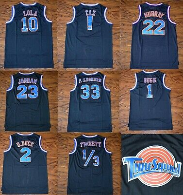 Bunny Space Jam Tune Squad Bugs #1 Lola #10 Halloween Costume Basketball Jerseys