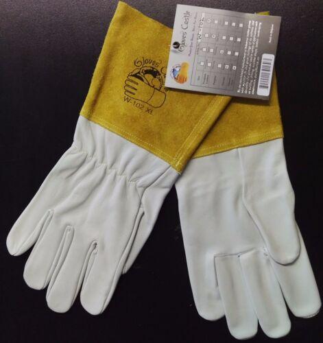 GLOVES CASTLE W-102 Premium Grade TIG Welding Gloves(S/M/L/XL-1 pair)