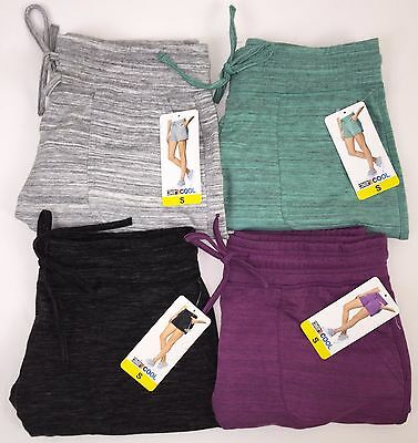 New 32 Degrees Cool Womens Fleece Performance Soft Shorts Jogger Variety