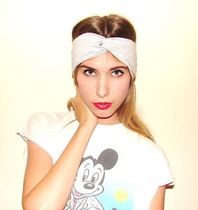 NEW-Heather-Gray-Turban-Headband-TURBAND