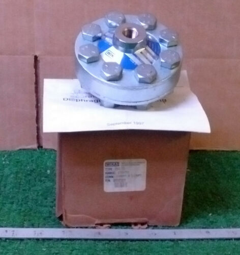 1 NEW WIKA 990.10 Diaphragm Seal w/THREADED CONNECTION NIB ***MAKE OFFER***