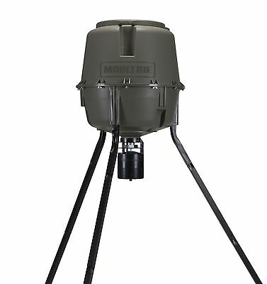 Moultrie 30 Gallon Easy-Lock Tripod Deer Feeder