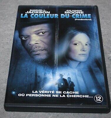 DVD - La Couleur du crime - Très bon état