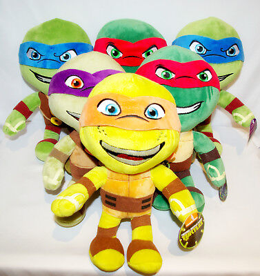 Teenage Mutant Ninja Turtles (TMNT) 30cm Plüschfiguren Ninja Stoftier
