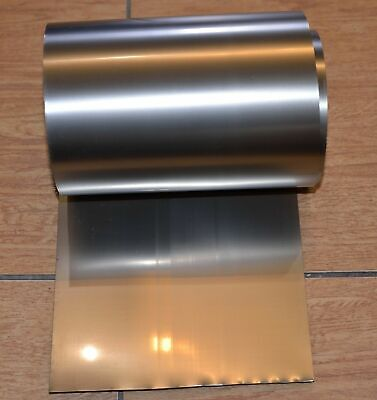 Big Roll Titanium Foil 78.7 Inch Sheet Plate Titane Thickness 012m Grade 1