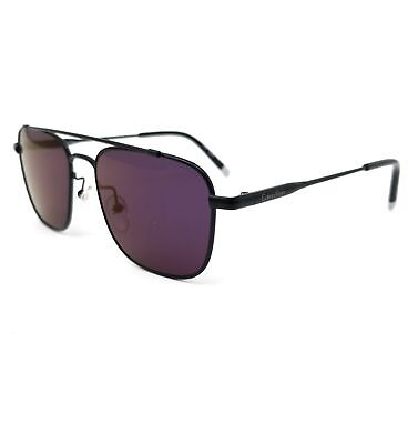 CALVIN KLEIN Sunglasses CK2150S 115 Matte Black Rectangle Unisex 53x17x140