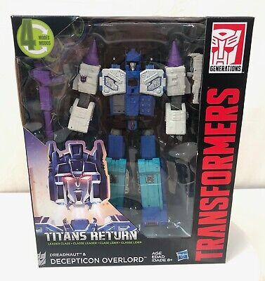 Transformers Titans Return Decepticon Overlord Leader Class 2016 Hasbro