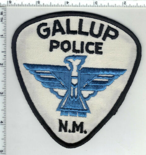 Gallup Police (New Mexico) 3rd Issue Shoulder Patch