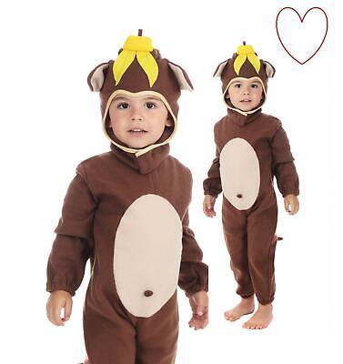 r Kleinkind Tier Buch Tag Mädchen Woche Jungen Affe Kostüm (Affe Kostüm Kleinkind)